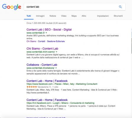 Essere primi su Google come si fa